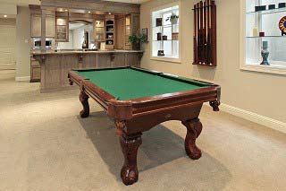 Expert pool table setup in Dayton content image2