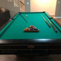Gandy Slate Pool Table