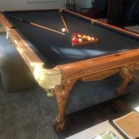 Large Luxury Pool Table For Sale