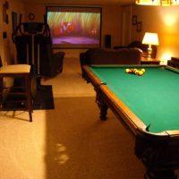 Classic Regulation Size Slate Pool Table