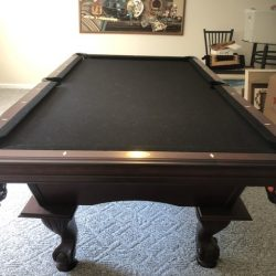 American Hertiage Billiards Table