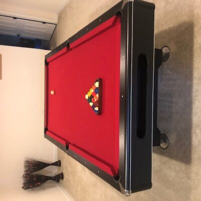 Imperial 8ft. Slate Pool Table & Accessories (Like New)